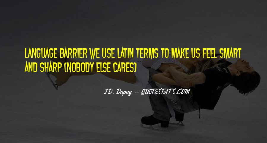Quotes About Latin Language #1352946