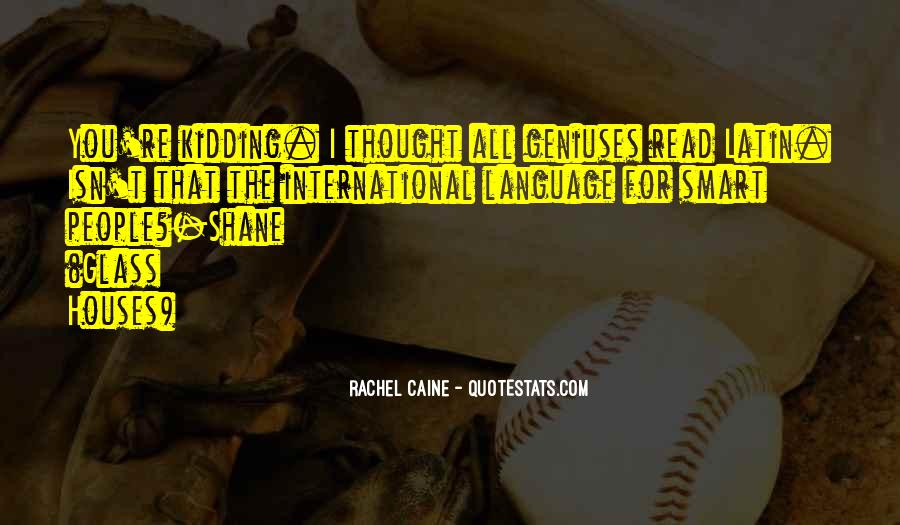 Quotes About Latin Language #1489660