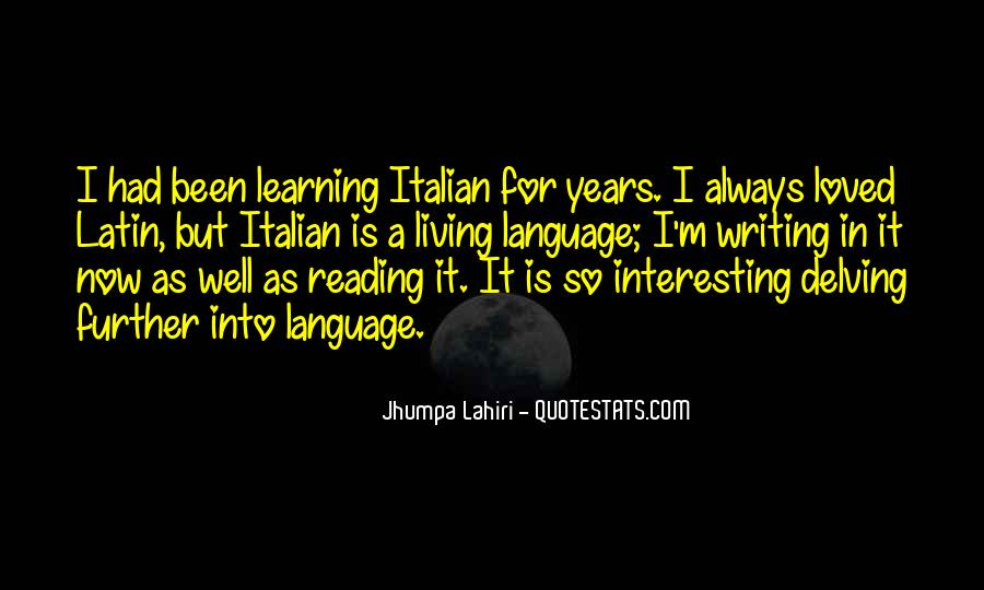 Quotes About Latin Language #157562