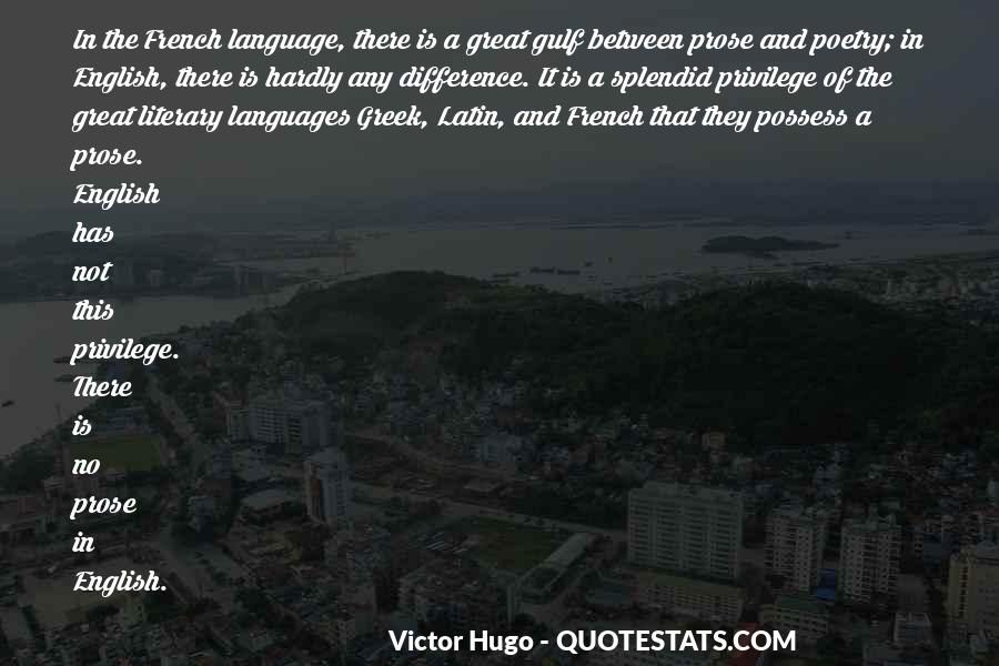 Quotes About Latin Language #1688199