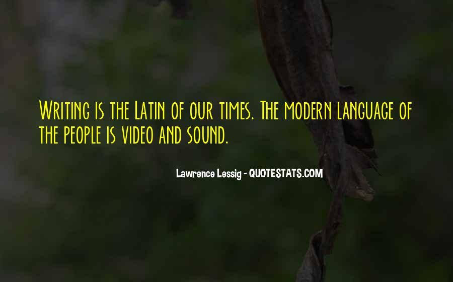 Quotes About Latin Language #1794526