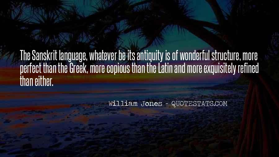 Quotes About Latin Language #262675