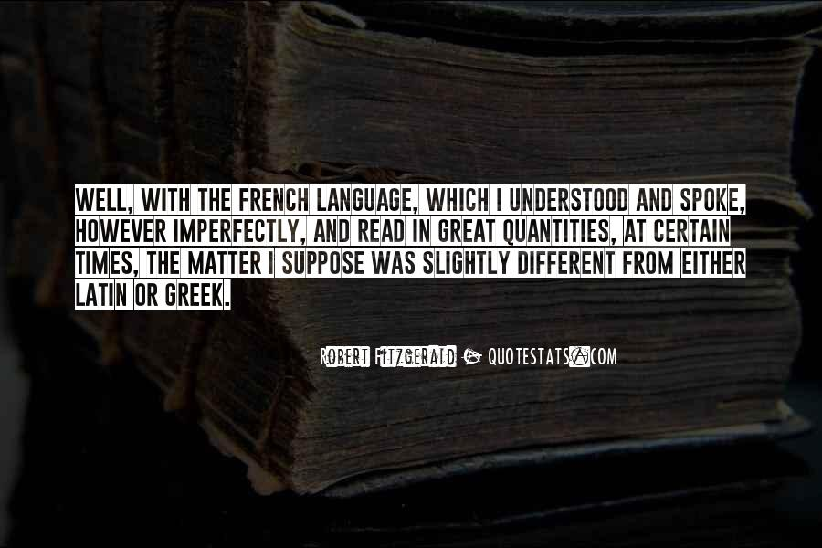 Quotes About Latin Language #44821