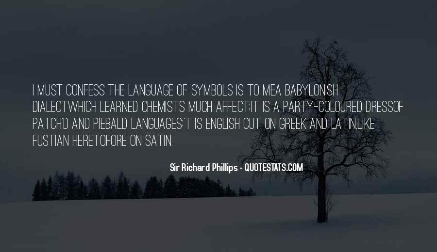 Quotes About Latin Language #549043