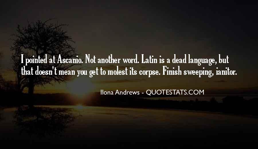 Quotes About Latin Language #593243