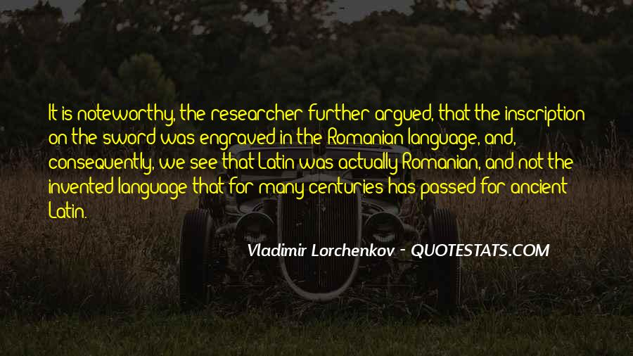 Quotes About Latin Language #610276