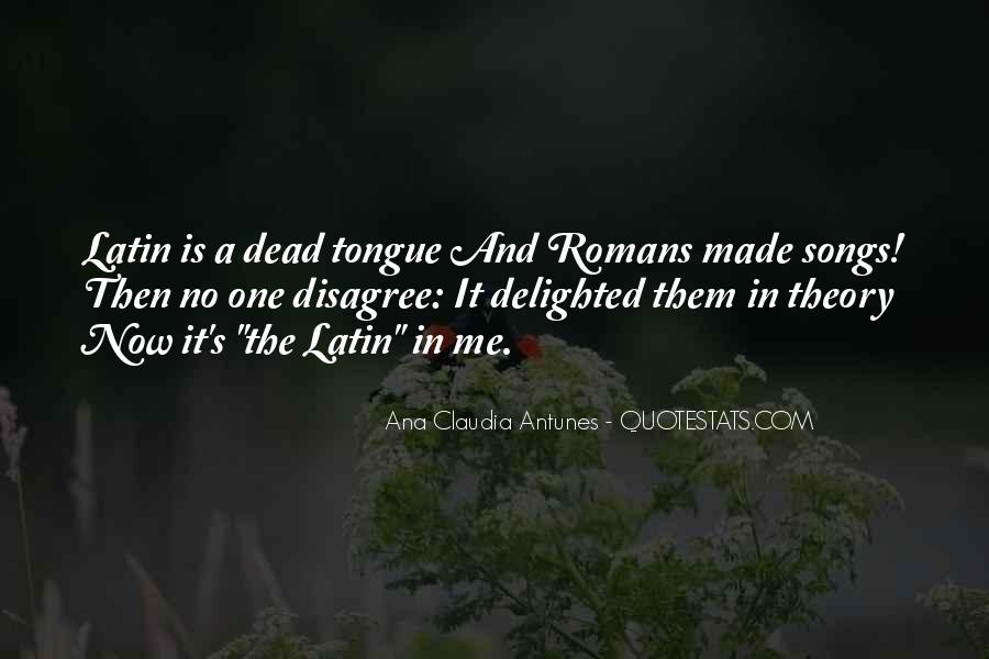 Quotes About Latin Language #729563