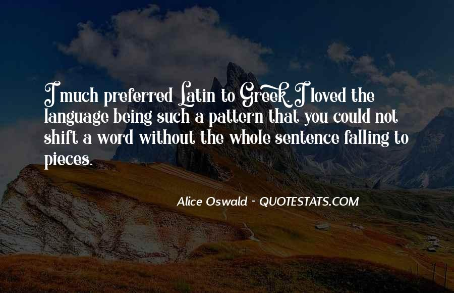 Quotes About Latin Language #975885
