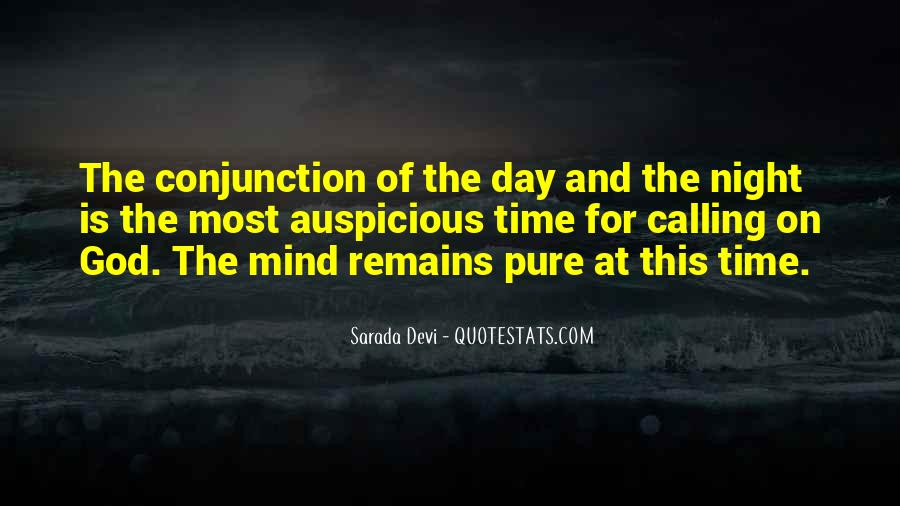 Conjunction Quotes #1113635