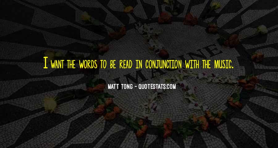 Conjunction Quotes #161765