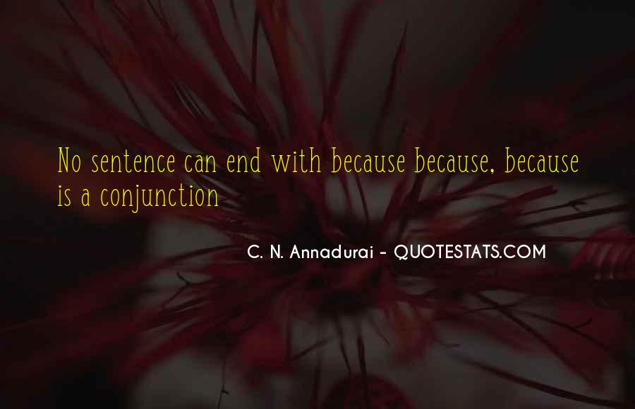 Conjunction Quotes #326245