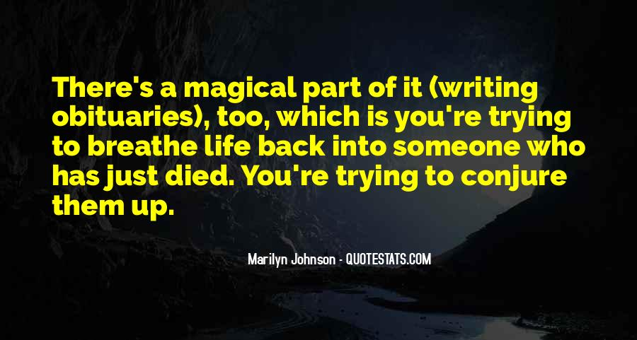 Conjure Quotes #333286