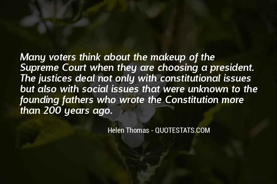 Constitutional Issues Quotes #1418942