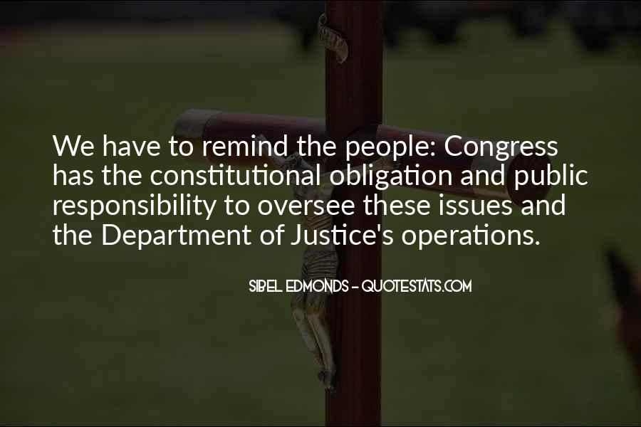 Constitutional Issues Quotes #671678