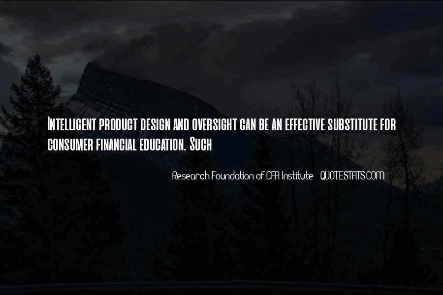 Consumer Education Quotes #17249