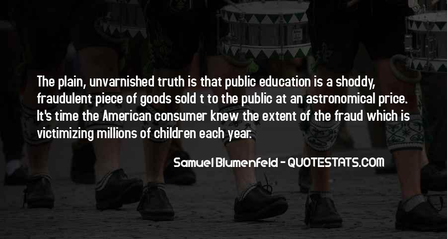 Consumer Education Quotes #633609