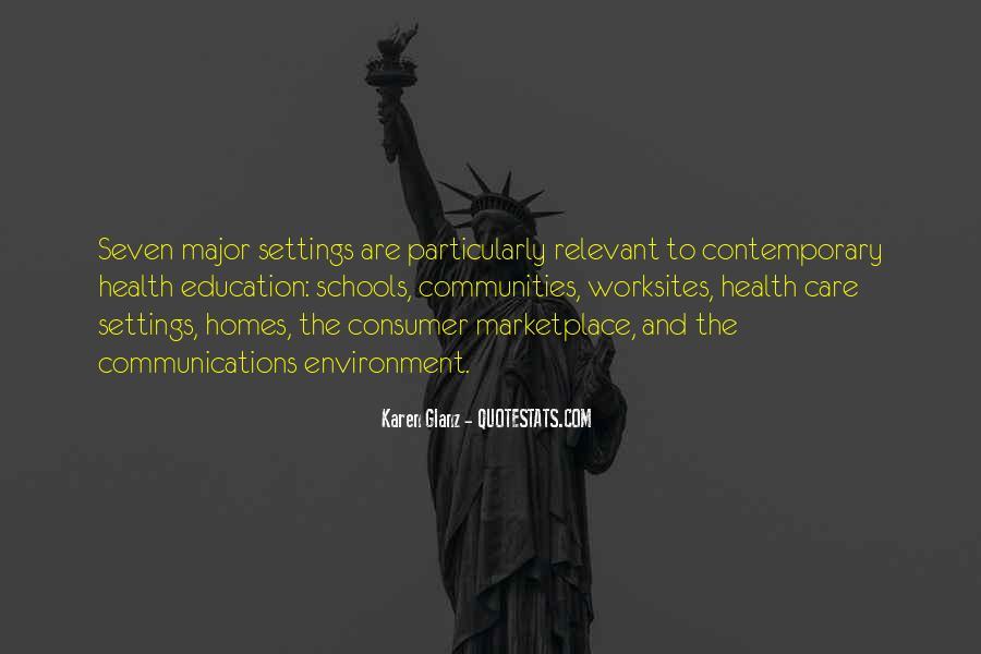 Consumer Education Quotes #843850