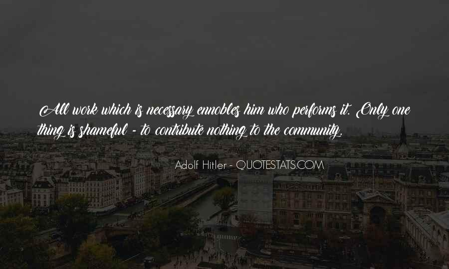 Contribute To Community Quotes #220379
