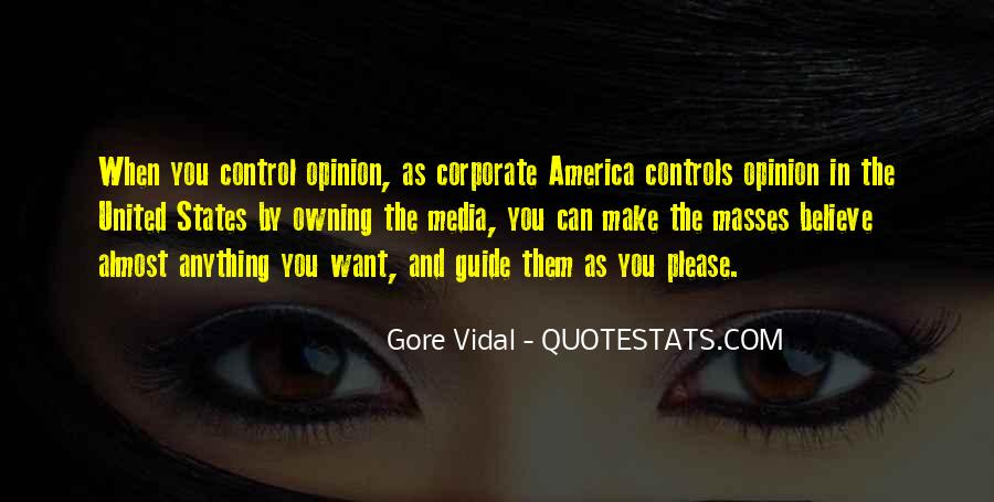 Control The Masses Quotes #27931