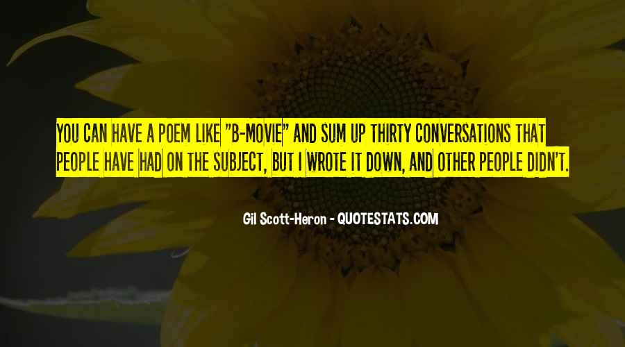 Conversation With Movie Quotes #1751327