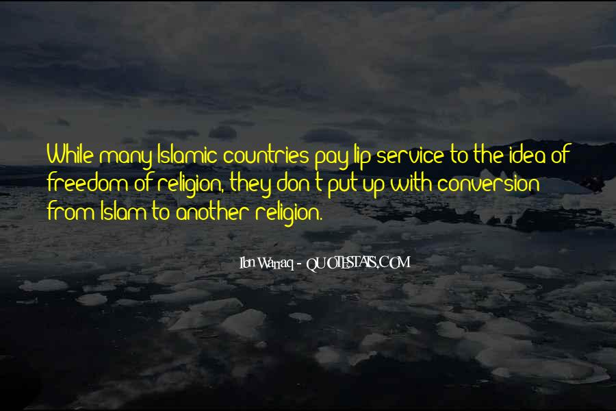 Conversion To Islam Quotes #760841