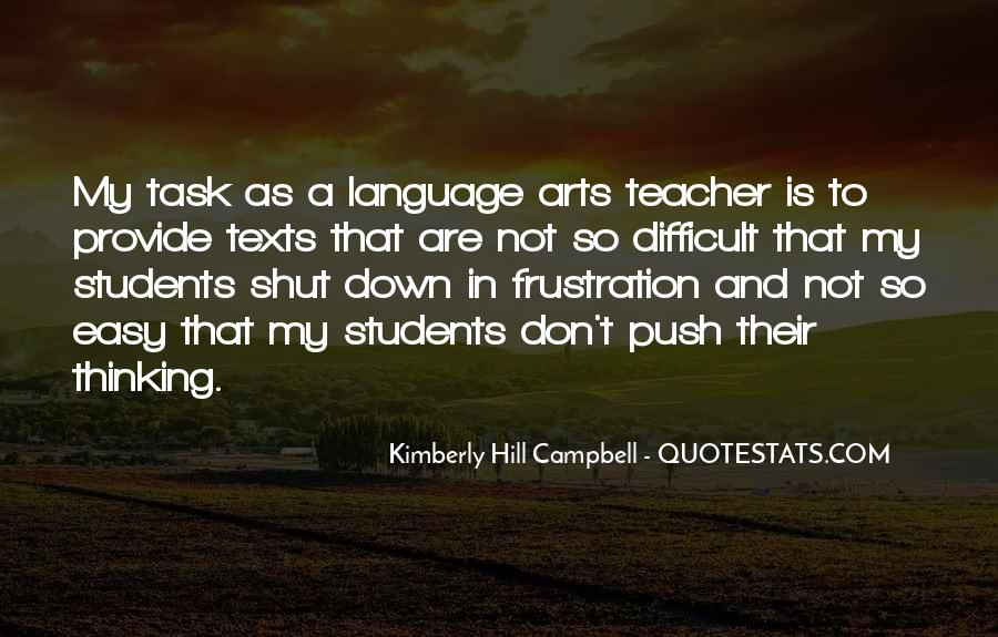 Quotes About Language Teaching #108033
