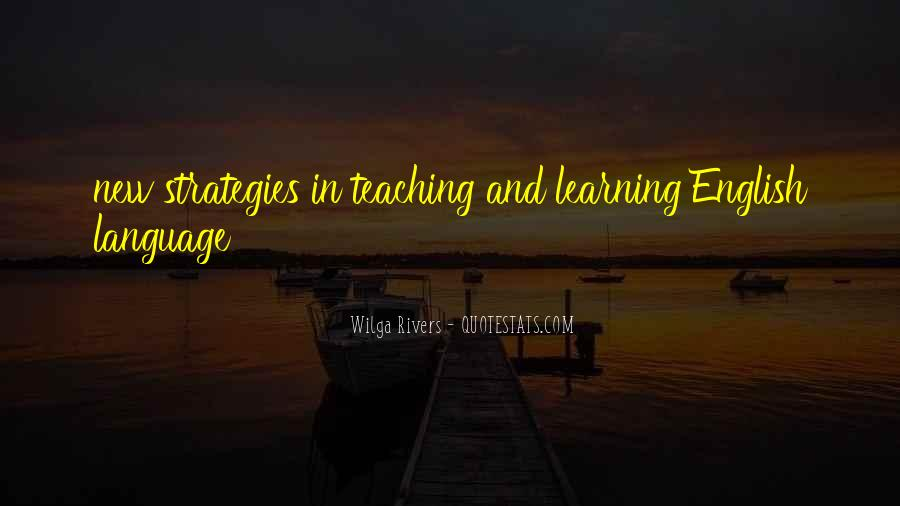 Quotes About Language Teaching #1230108
