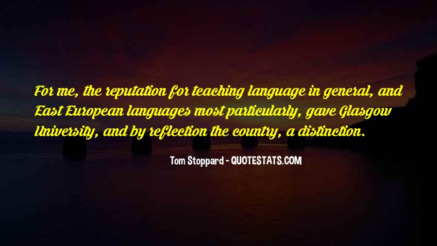 Quotes About Language Teaching #1578522