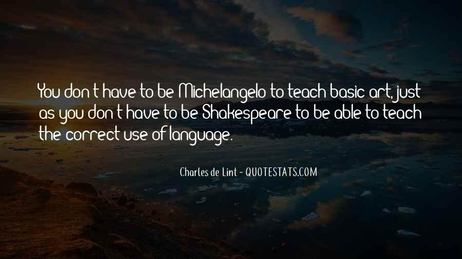 Quotes About Language Teaching #1797133
