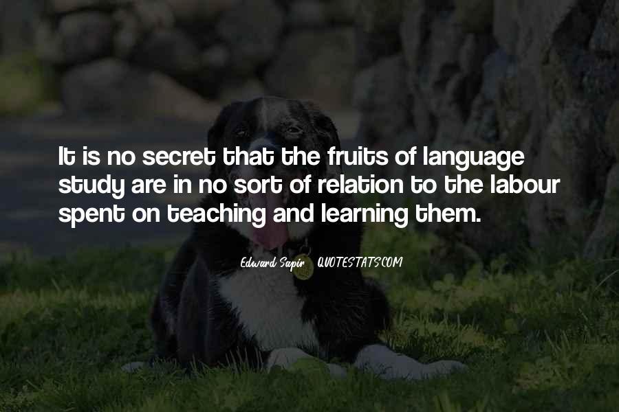 Quotes About Language Teaching #577485