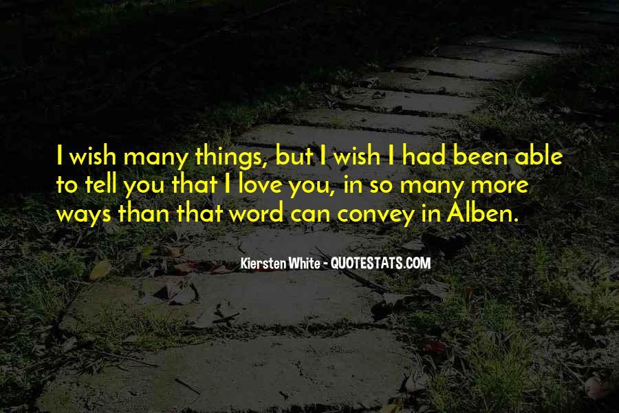Convey Love Quotes #1482412