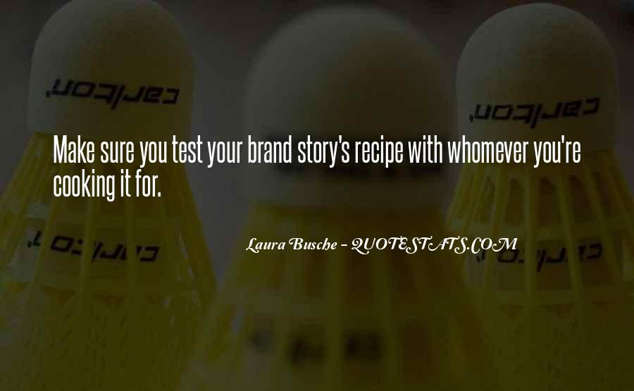 Cooking And Business Quotes #1692814