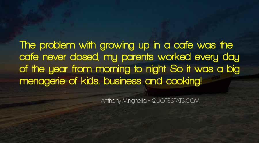 Cooking And Business Quotes #788209