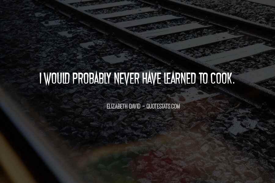 Cooks Quotes #310545