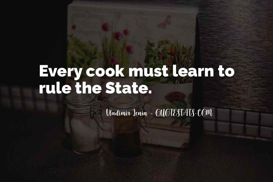Cooks Quotes #487201