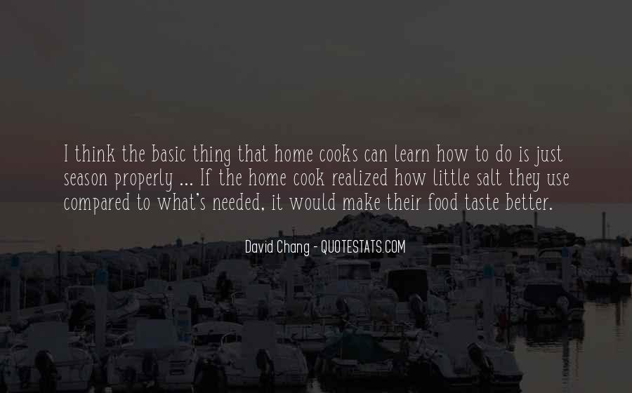 Cooks Quotes #563375