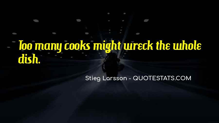 Cooks Quotes #606512