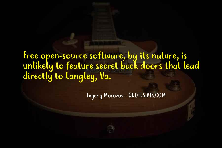 Quotes About Langley #1337249