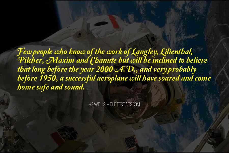 Quotes About Langley #179019