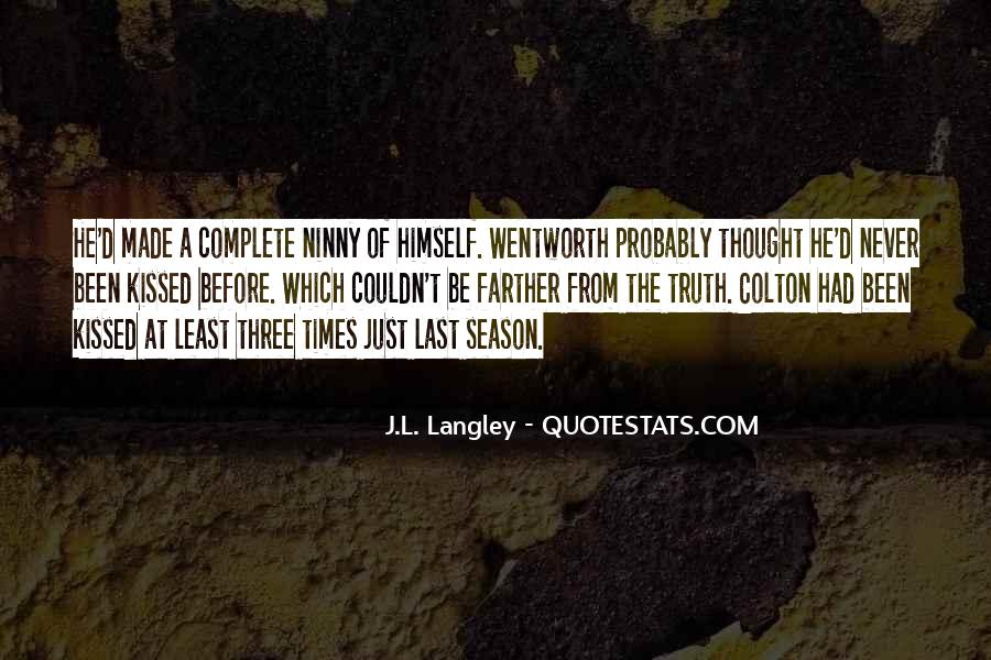 Quotes About Langley #317580