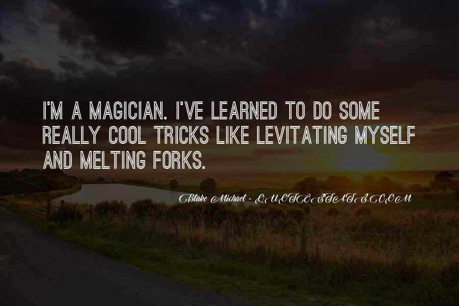 Cool Magician Quotes #603126