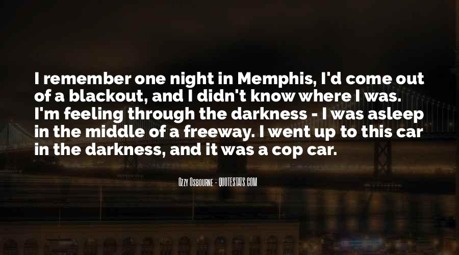 Cop Out Quotes #1317498