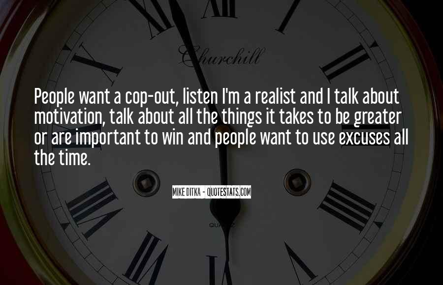 Cop Out Quotes #1700860