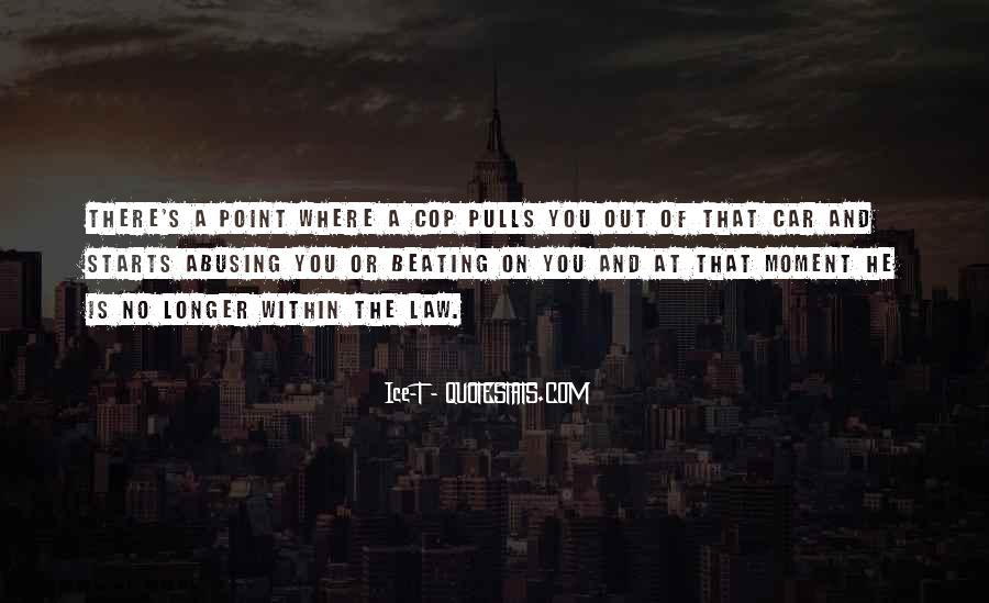 Cop Out Quotes #752010