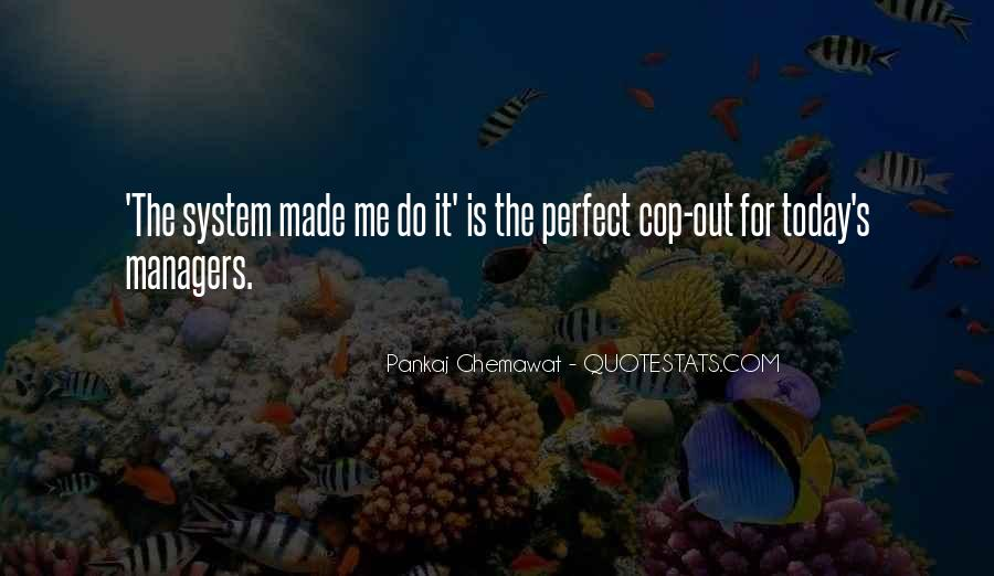 Cop Out Quotes #905538