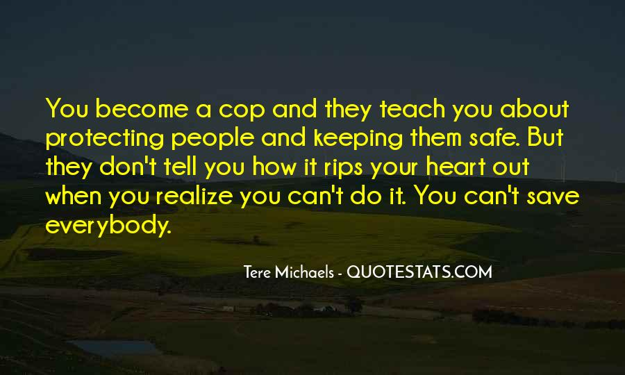 Cop Out Quotes #922641