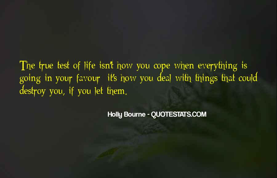 Cope With Life Quotes #135303