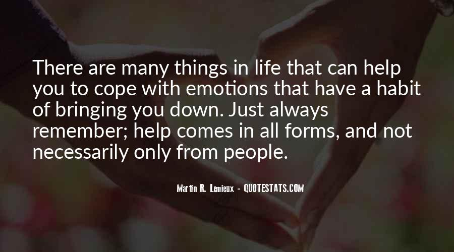 Cope With Life Quotes #154370