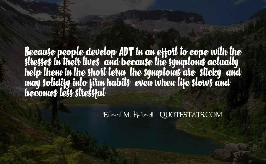 Cope With Life Quotes #246756