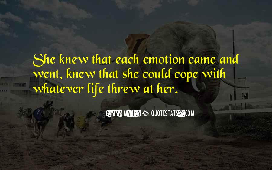 Cope With Life Quotes #799485